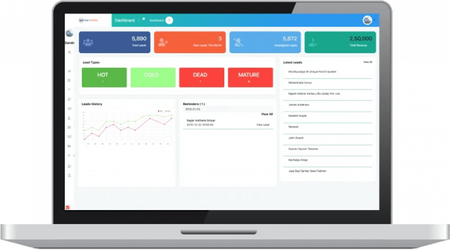 WHSuites - Lead Management Software