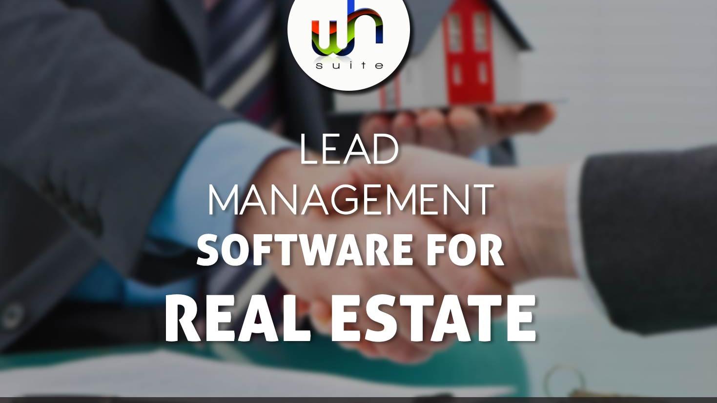 real estate lead management software