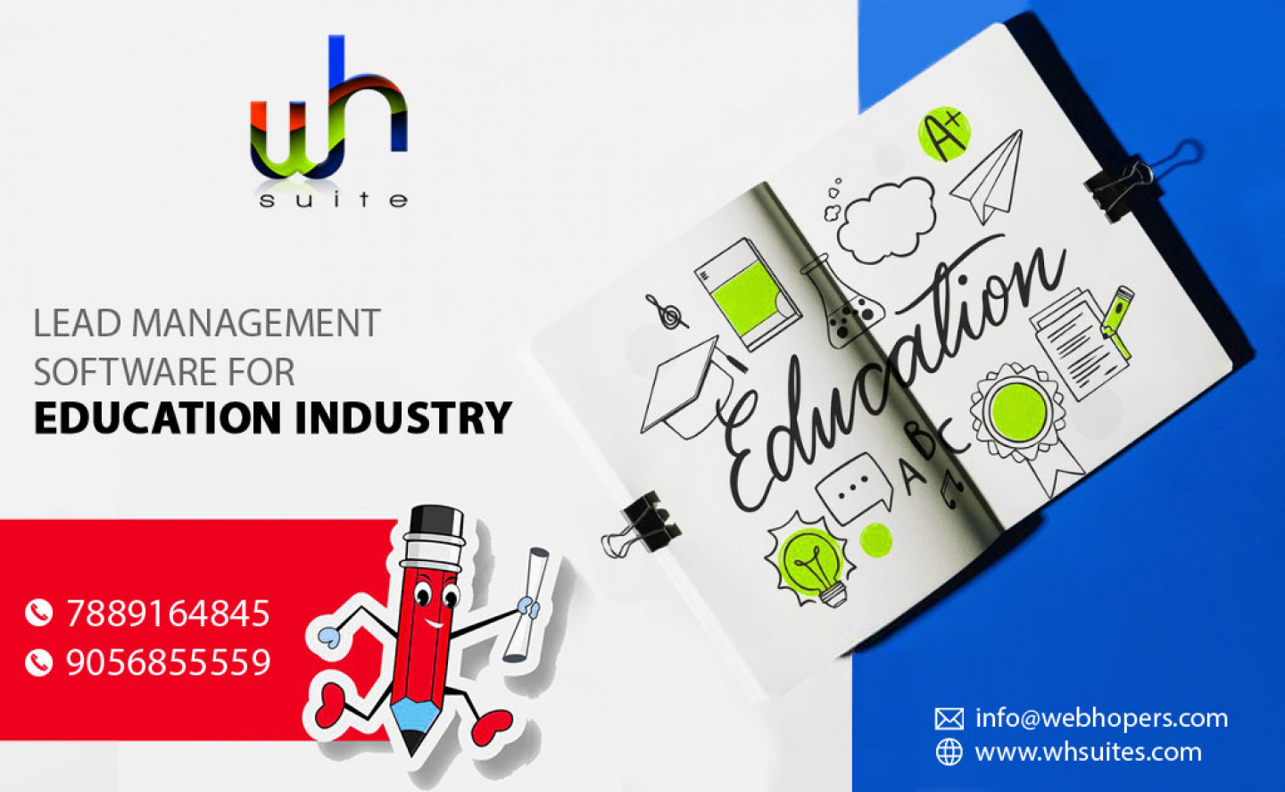 Lead management software for Education Industry